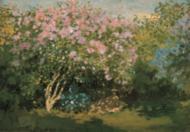 Bluhender Flieder in der Sonne, 1873