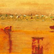 Pomarańczowy krajobraz