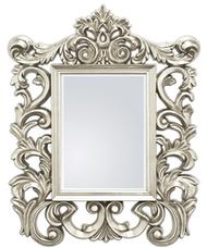 Lustro srebrne z bogatym ornamentem Laguna 19B