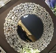 Lustro w ramie kryształkowej Laguna 16
