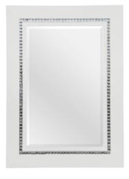 Lustro z paseczkiem z kryształków TZ129