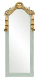 Lustro w miętowej ramie antycznej TZ90-2