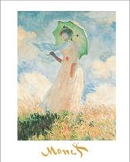 Kobieta z parasolem II