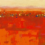 Czerwony krajobraz