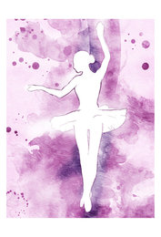 PAINTED BALLERINA I