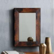 Lustro w ramie ciemnobrązowej Handmade 9