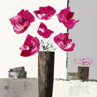 Różowe piwonie I
