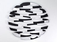 Lustro okrągłe przeplatanka Laguna 103