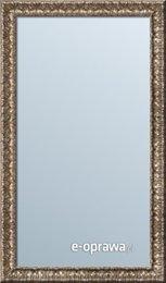 Lustro w ramie ornamentowej capuccino Hannah AE