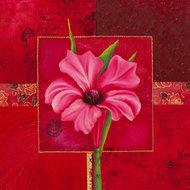 Kwiatowy kwadrat  VII