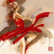 Zatracona w tańcu