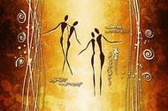 Tańczące kobiety I