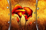 Czerwone lilie