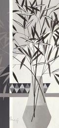 Srebrzysty bambus I