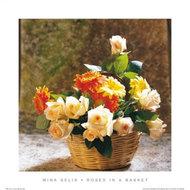Kwiaty w koszyku