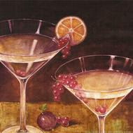 Martwa natura z kieliszkiem Martini II
