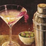 Martwa natura z kieliszkiem Martini
