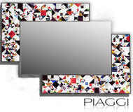 Lustro Piaggi Kaleidoscope Multicolour