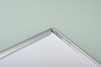 Ramka na zdjęcia i obrazy srebrne aluminium na zatrzask OWZ 02