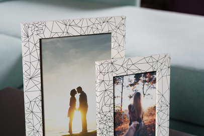 Ramka na zdjęcia i obrazy z geometrycznymi wzorami Diamond AF