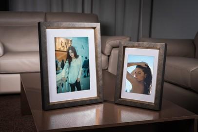 Rama do obrazów i zdjęć złotobrązowa przecierana Nirvana AC