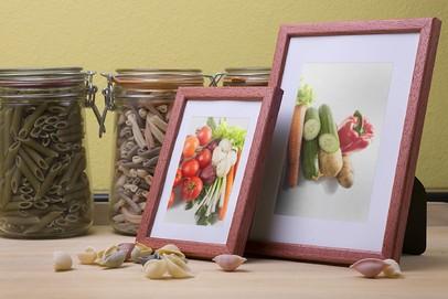 Rama do obrazów i zdjęć brązowo-herbaciana Texas W