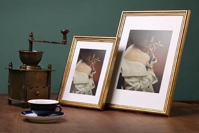 Rama do obrazów i zdjęć złota pokarbowana Wenus AA