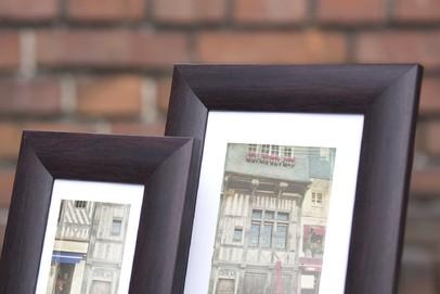 Rama do obrazów i zdjęć ciemnowiśniowa obła Fenix UI