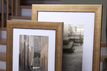 Rama do obrazów i zdjęć pozłacana szczotkowana Panama AA
