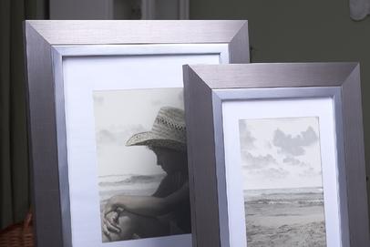 Rama do obrazów i zdjęć stalowa z paskiem Riwiera AB
