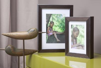 Rama do obrazów i zdjęć złotobrązowa wyprążkowana Fenix FA
