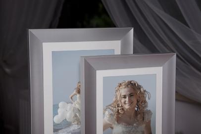 Rama do obrazów i zdjęć aluminiowa półmatowa ALU 225-218