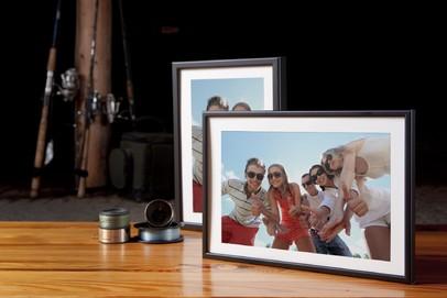 Rama do obrazów i zdjęć aluminiowa kruczoczarna ALU 270-021