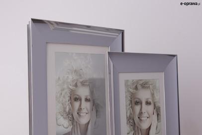 Rama do obrazów i zdjęć chromowa aluminiowa ALU 220-003
