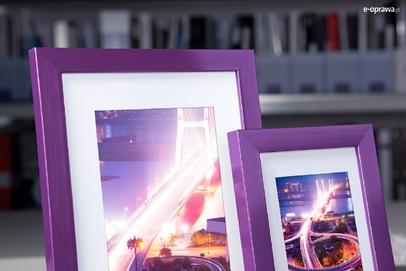Rama do obrazów i zdjęć ametystowa Nicola AE