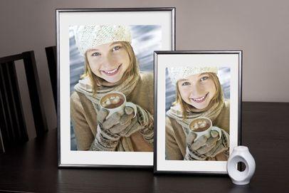 Rama do obrazów i zdjęć srebrzysta aluminiowa ALU 7-306