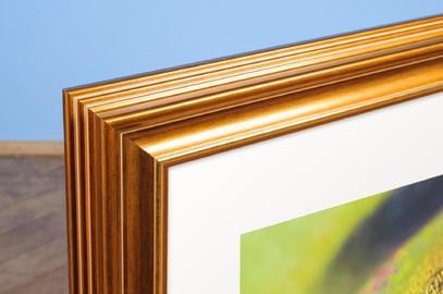Rama do obrazów i zdjęć złota karbowana Eos AB