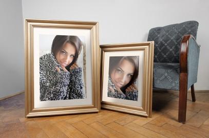 Rama do obrazów i zdjęć patynowa wyżłobiona Eos AA