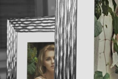 Rama do obrazów i zdjęć przecierana grafitem z czernią Selena AB