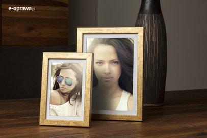 Rama do obrazów i zdjęć złota spękana  Rodos AC