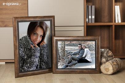 Rama do obrazów i zdjęć kakaowy brąz Parma AB