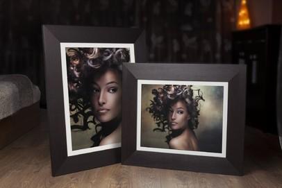 Rama do obrazów i zdjęć ciemny brąz wenge Hawana AE