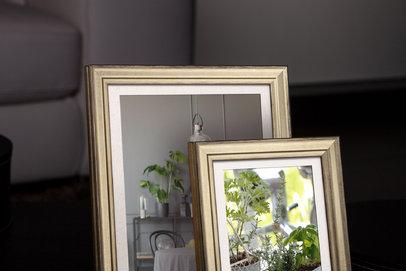 Rama do obrazów i zdjęć złota żłobiona Molto AA