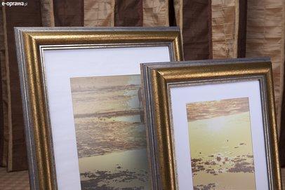 Rama do obrazów i zdjęć obła złota Caracas GB