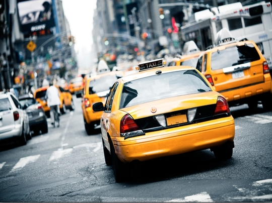 Yellow taxi 2