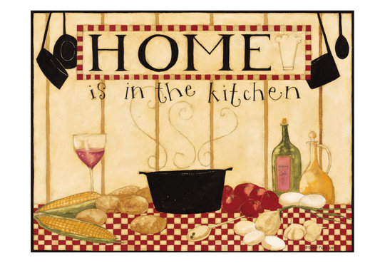HOME IS IN THE KITCHEN I