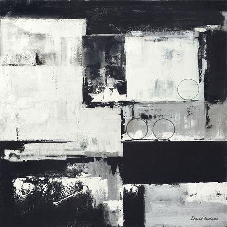Circles On Black-White II