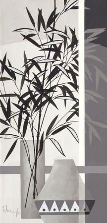 Srebrzysty bambus II