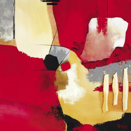 Kompozycja w czerwieni I
