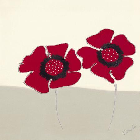 Czerwone kwiaty I